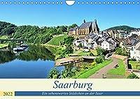 Saarburg - Ein sehenswertes Staedtchen an der Saar (Wandkalender 2022 DIN A4 quer): Kleiner Trip zu diesem schoenen Staedchen (Monatskalender, 14 Seiten )