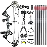N\C DJH Archery Compound Bow Package for...