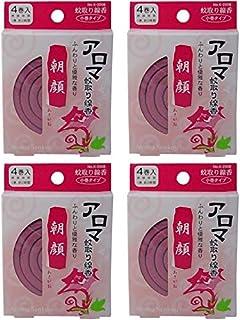 【まとめ買い】アロマ蚊取り線香 朝顔(あさがお)【×4個】