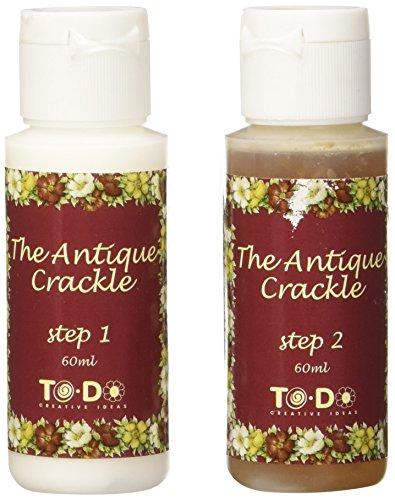 To-Do 90563 Effetto Crackle, Decoupage, 60 ml, Trasparente, 5.5x5.5x8.5 cm