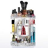 Cozihoma Rangement Maquillage Acrylique 360 Rotatif Maquillage Organisateur Réglable...