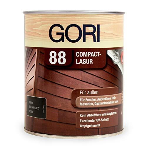 Gori 88 Compact-Lasur LH Ebenholz 750 ml