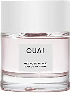 OUAI Melrose Place Eau de Parfum. An Elegant Perfume Perfect for Everyday Wear. The Fresh Floral Scent has Notes of Champagne, Bergamot and Rose, and Delicate Hints of Cedawrood and Lychee (1.7 oz)