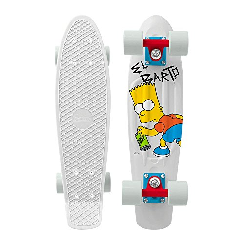 Cruiser Set Completo Penny The Simpsons Series - 22 Inch El Barto (Default , Bianco)