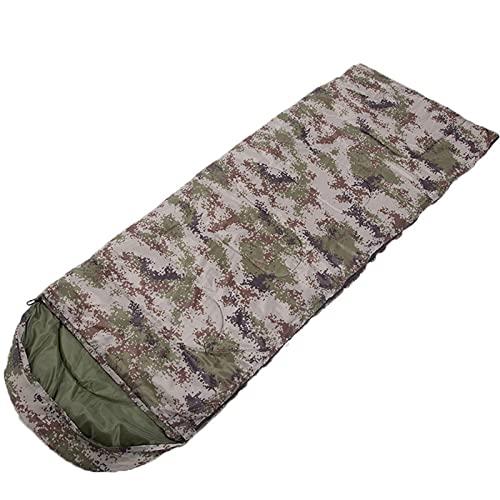 FACWAWF Cómodo Saco De Dormir Tipo sobre Forrado con Fibra De Poliéster, Muy Adecuado para Coleccionar, Pescar, Acampar Y 7 Colores Diferentes 210cmx75cm(2400g)