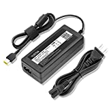 Yustda 90W AC/DC Adapter Replacement for Lenovo Thinkpad 90W Slim Tip Standard AC Adapter for Slim Tip Models Only (0B46994) Power Supply Cord Cable PS Battery Charger Mains PSU
