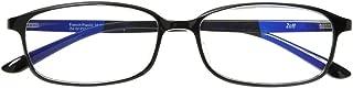 スクエア型PCめがね Zoff PC CLEAR PACK (ブルーライト50%カット) ゾフ PCメガネ 眼鏡 めがね 黒縁 ダテメガネ メンズ 男性用 レディース 女性用 プラスチック