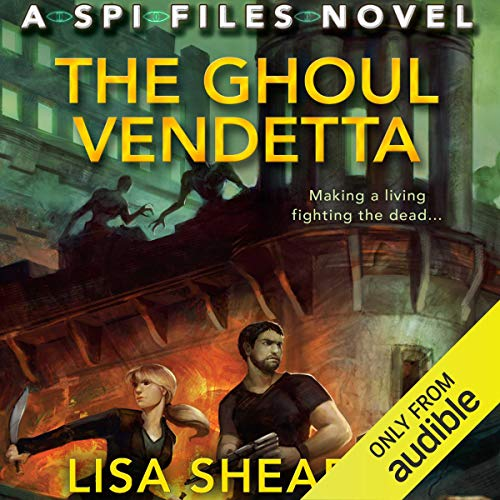 The Ghoul Vendetta audiobook cover art