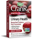 Nature's Way CranRx Bioactive Cranberry Urinary Health 500mg potency, Once Daily, 30 VCaps