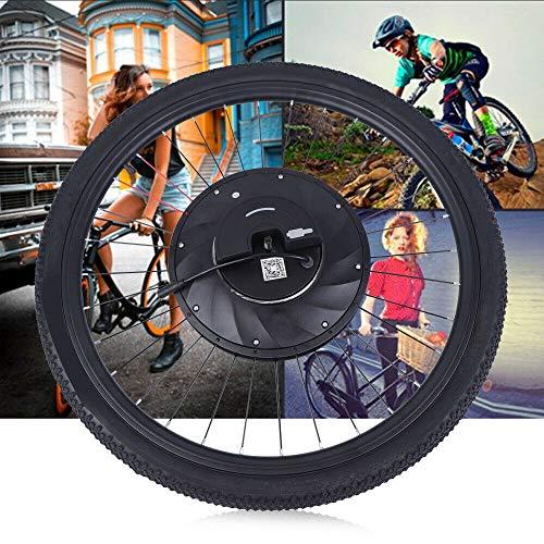 RibasuBB Bicycle Motor Conversion Kit, 26-inch Electric Front Wheel Hub Motor Conversion Kit Bike Cycling Hub with Battery 36V