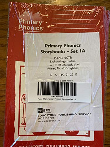 More Primary Phonics Storybook Set 1A