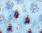 Little johnny Disney Frozen Anna, Elsa & Olaf, 100%