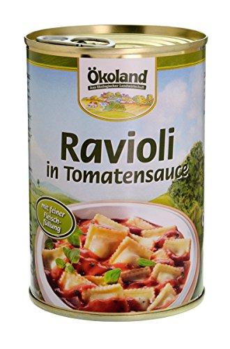Ökoland Ravioli mit Fleischfüllung (400 g) - Bio