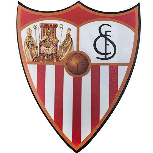 SEVILLA FUTBOL CLUB Alfombrilla de ratón con Forma del Escudo del Club