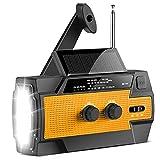 Best Solar Radios - 【2021 Newest】RunningSnail Emergency Crank Radio,6000mAh-Solar Hand Crank Portable Review