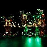 Seasy Juego de iluminación para Lego Star Wars 10236 – Ewok Village, juego de iluminación LED compatible con Lego 10236 (sin juego Lego)