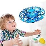 UFO Mini Drohne, Vivibel Kinder Spielzeug Handsensor Quadcopter Infrarot-Induktions-Flying Ball Fliegendes Spielzeug Geschenke für Jungen Mädchen Indoor Outdoor Fliegender Ball -