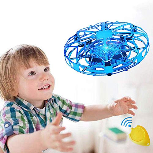 UFO Mini Drohne, Vivibel Kinder Spielzeug Handsensor Quadcopter Infrarot-Induktions-Flying Ball Fliegendes Spielzeug Geschenke für Jungen Mädchen Indoor Outdoor Fliegender Ball