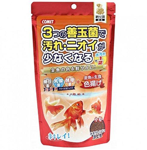 コメット 金魚の主食納豆菌 色揚げ 小粒 200グラム (x 1)