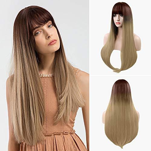 comprar pelucas marrones mujer online