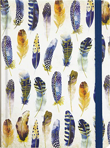 Watercolor Feathers Journal (Diary, Notebook)
