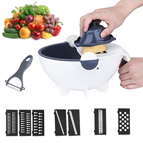 Jeslon Vegetable Slicer, 11 in 1 Mu…