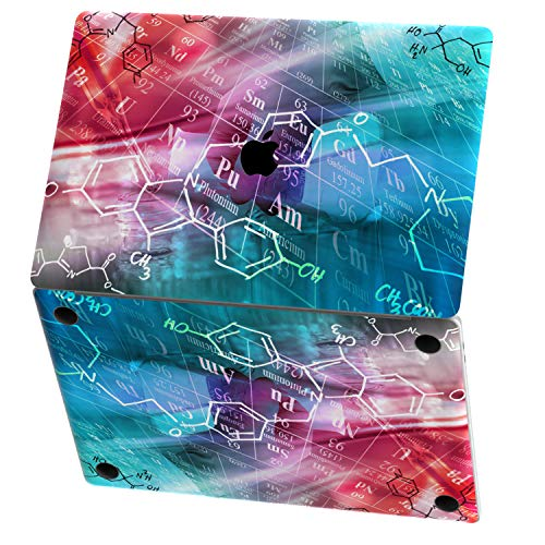 Mertak Vinyl Skin Compatible with MacBook Air 13 inch Mac Pro 16 15 Retina 12 11 2020 2019 2018 2017 Science Laptop Keyboard Abstract Periodic Table of Elements Touch Bar Chemistry Trackpad Wrap