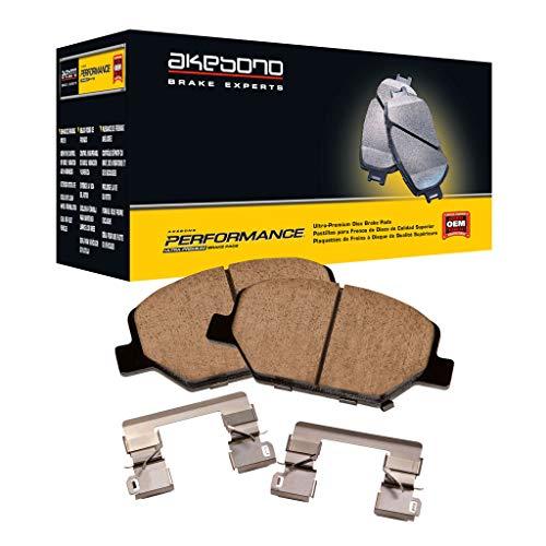 Akebono-ASP905A Ultra-Premium Ceramic Rear Brake Pads