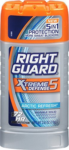 Right Guard Xtreme Defense 5 Arctic Refresh Antiperspirant & Deodorant 2.6 oz by Right Guard