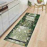 Alfombrillas de Cocina Impresas Modernas, alfombras de Puerta...