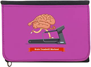 brain treadmill workout Printed Case Wallet,  jeans