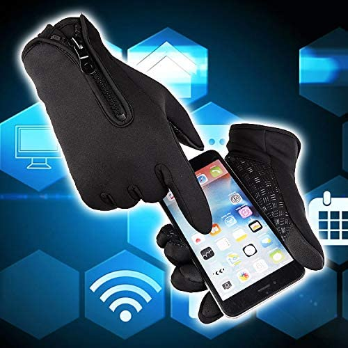 Touchscreen Winter Warm Gloves for iPhone Android Outdoor Sports Bicycling Cycling Driving Running product image