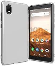 Compatible Case for Cricket Wireless Alcatel Apprise/Alcatel Glimpse, Flexible Soft TPU Gel Skin Protective Cover (Clear)