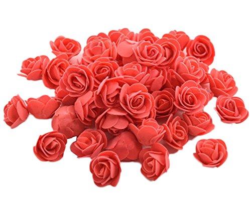 Westeng Roses mousse de Simulation Couleurs Pour la Décoration 50pcs