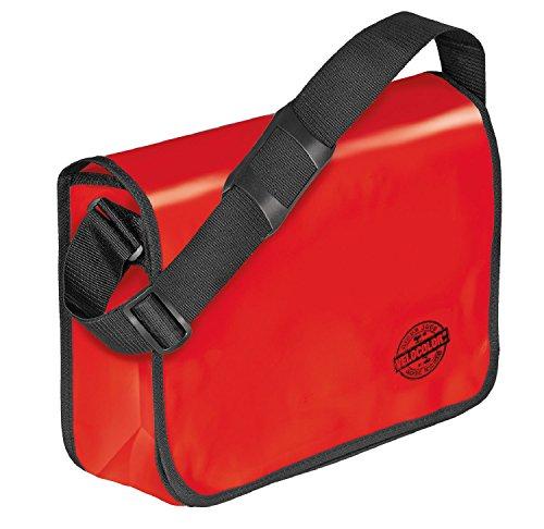 Veloflex 7000321 Shoulder Bag Velocolor Umhängetasche, Rot