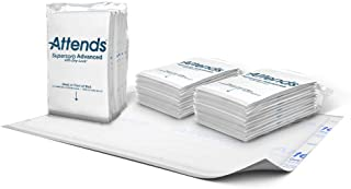 """Attends Supersorb Advance Premium Underpad 30""""x36"""", 5 Count, 60 Count"""