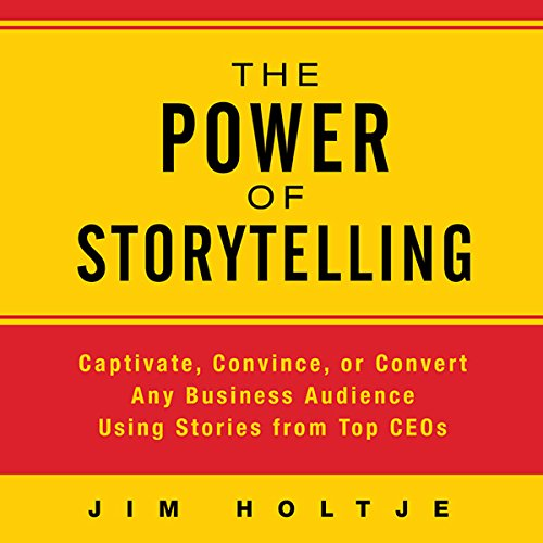 The Power of Storytelling audiobook cover art