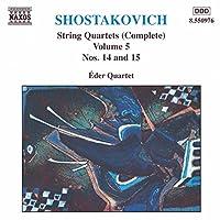 String Quartets Vol. 5 (Nos. 14 & 15)