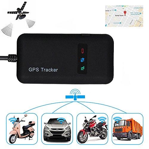 GPS-Ortungsgerät in Echtzeit (GPS/GSM/GPRS/SMS) für Auto, Motorrad, Fahrrad als Diebstahlsicherung
