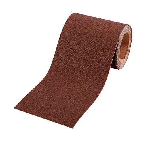 kwb Schleifpapier-Rolle – für Metall und Holz, K-40, 93 mm x 5 m, Korund