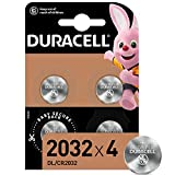 Duracell DL2032/CR2032 - Batteria Bottone al Litio 3V, con Tecnologia Baby Secure per l'Us...