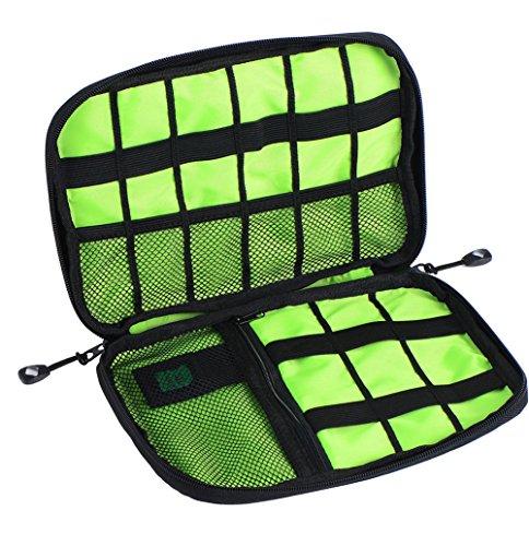Weimay Multifunktionaler Aufbewahrungskoffer 2,5 Zoll 3C Digitales Produkt-Aufbewahrungs-Paket Perfekt für Festplatte, Headset, Mobile Power-Produkt
