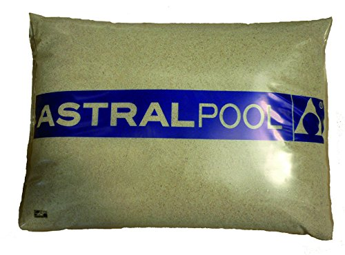Astralpool - Arena-Silex (0,4-0,8 Mm) Sacos 25 Kg