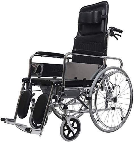 CHUNSHENN Wheelchair 2021 model Full NEW before selling ☆ Lying High Light Back Trans