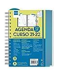 Finocam Agenda 2021 2022 Semana vista apaisada Septiembre 2021, Agosto 2022 12 meses 4º, 155x212 Docente Magistral...