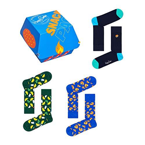 Happy Socks Geschenkbox JUNK FOOD SOCKS XJUN08-0100 Mehrfarbig, Size:41-46
