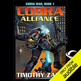 Cobra Alliance audiobook cover art