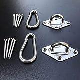 Hammock Bracket, Hammock Hanging Set Hamm Hook & Hook Ring for Hammock Bracket, Tools & Home Improvement HotSales (Multicolor)
