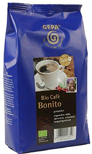 GEPA Bonito Bio Kaffee gemahlen - - 1 Karton (10 x 500g)