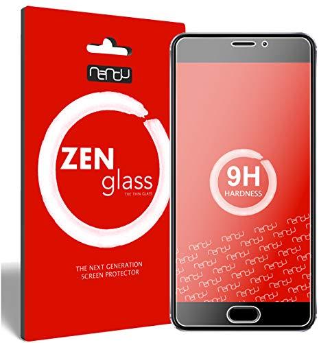 ZenGlass Flexible Glas-Folie kompatibel mit Meizu M5 Note Panzerfolie I Bildschirm-Schutzfolie 9H I (Kleiner Als Das Gewölbte Bildschirm)